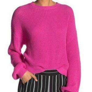 Abound Easy Stitch Crew Neck Pullover Sweater XL